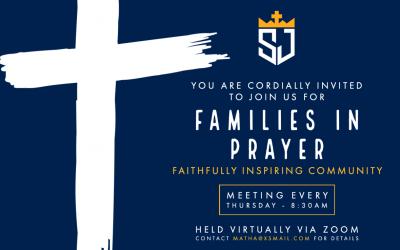 SJS FAMILIES IN PRAYER